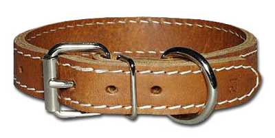"Collar, 1"" Regular  Leather"