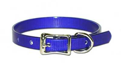 "Collar, 1/2"" Plain straight collar dayglo"