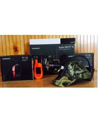 GARMIN ALPHA 4 DOG BUNDLE WITH LED 80K MULTI COLOR LIGHT
