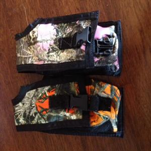 PINK OR ORANGE CAMO POUCH FOR ASTRO OR ALPHA