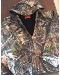 Southside Amish Made ALL Camo Hooded Jacket #511