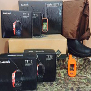 Garmin Alpha 5 Dog TT 15 System with Boots/Chaps