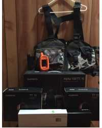 GARMIN ALPHA 3 DOG SYSTEM WITH STRAP VEST NEW
