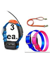 3-Pak GARMIN T5 Collar Bundle