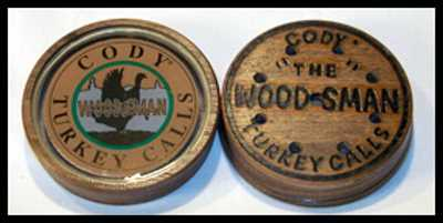 CODY WOODSMEN GLASS